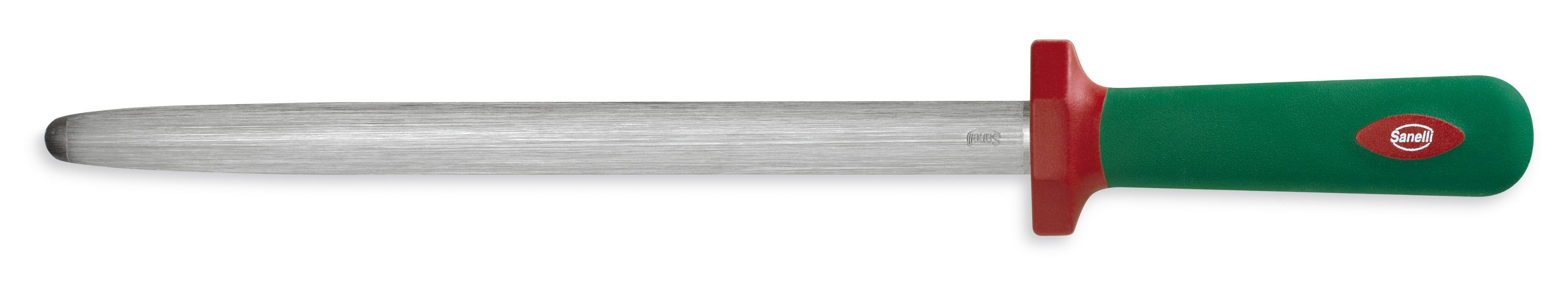 30cm//11.81 Sanelli Premana Professional Sharpening Steel Green
